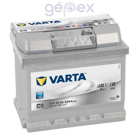 Varta Silver Dynamic 52Ah 520A J+