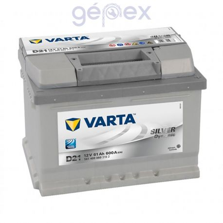 Varta Silver Dynamic 61Ah 600A J+
