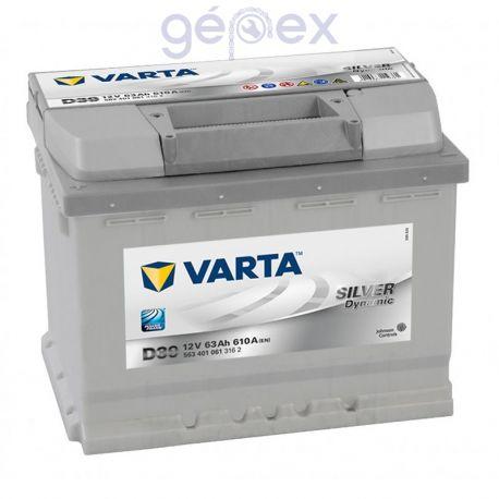 Varta Silver Dynamic 63Ah 610A B+