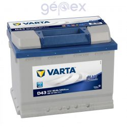 Varta Blue Dynamic 60Ah 540A J+
