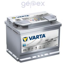 Varta Silver Dynamic AGM 60Ah 680A J+ (Start Stop Plus)