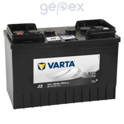 Varta ProMotive Black 125Ah 720A B+ perem nélküli
