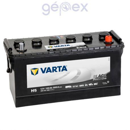 Varta ProMotive Black 100Ah 600A J+ perem nélküli