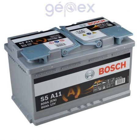 Bosch S5 AGM 80Ah 800A J+
