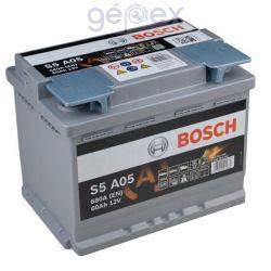 Bosch S5 AGM 60Ah 680A J+