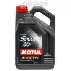 Motul Specific 505 01 502 00 5W40 5l