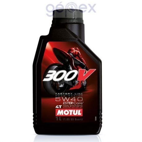 Motul 300V Factory Line 4T 5W40 1l
