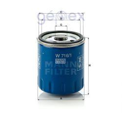 MANN-FILTER W716/1