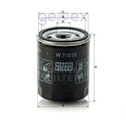 MANN-FILTER W713/28