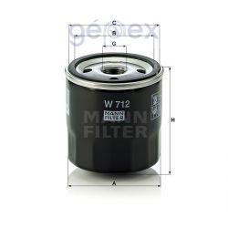 MANN-FILTER W712
