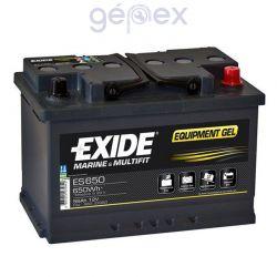 Exide ES650 12V 56Ah 650Wh munkaakku