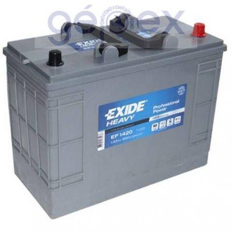Exide Heavy Professional Power 142Ah 850A J+