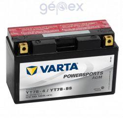 Varta Powersports AGM 12V 7h B+ YT7B-BS