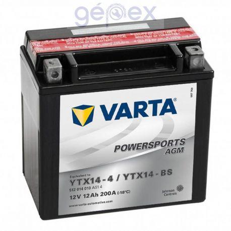 Varta Powersports AGM 12V 11Ah B+ YTX14-BS