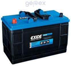 Exide ER550 DUAL 12V 115Ah 550Wh munkaakku és indítóakku