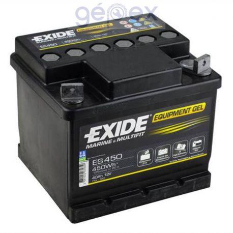 Exide ES450 12V 40Ah 450Wh munkaakku