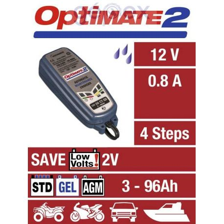 Optimate 2 12V 0.8A SAE