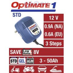 Optimate 1 12V 0.6A SAE