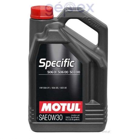 Motul SPECIFIC 506.01-503.00-506.00 0W-30 5l