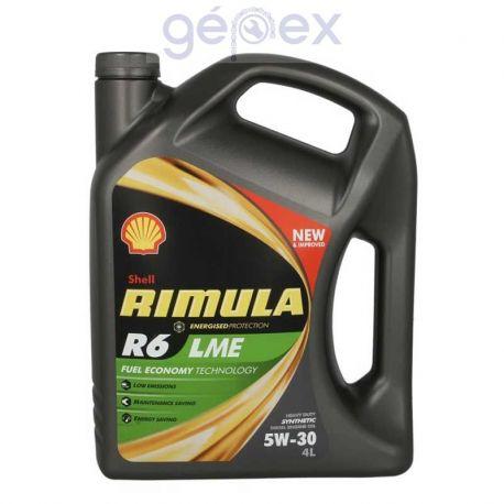 Shell Rimula R6 LME 5W30 4l