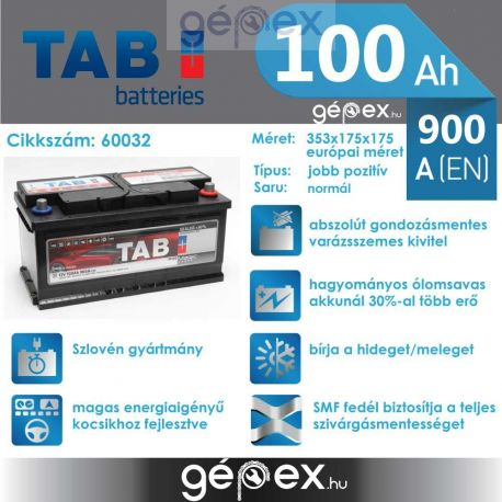 TAB Magic 100Ah 900A J+