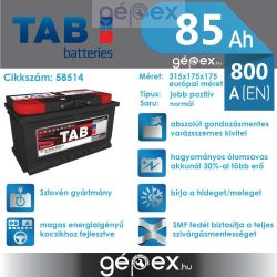 TAB Magic 85Ah 800A J+