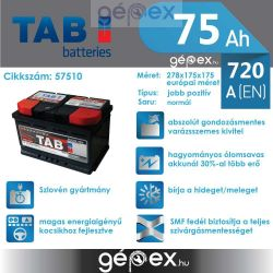 TAB Magic 75Ah 720A J+