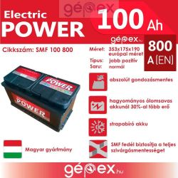 JP Electric Power 100Ah 800A J+ SMF