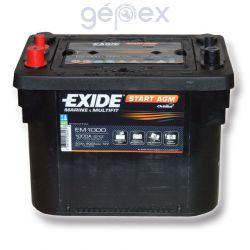 Exide Maxxima 50Ah 800A B+ spirálcellás
