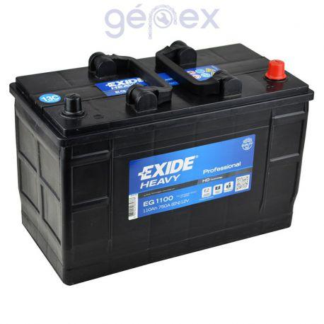 Exide Heavy Professional 110Ah 750A J+ perem nélküli