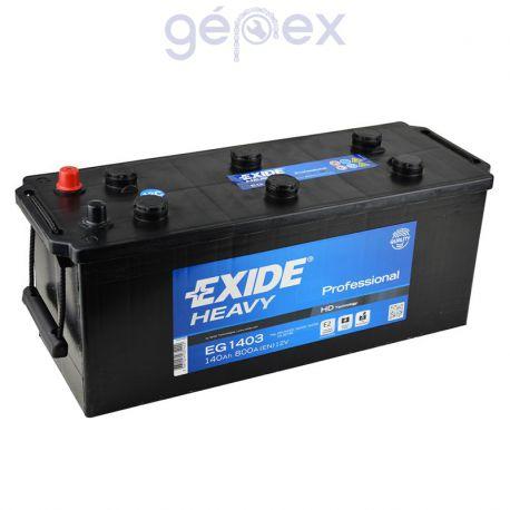 Exide Heavy Professional 140Ah 800A B+