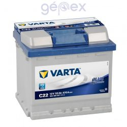 Varta Blue Dynamic 52Ah 470A J+