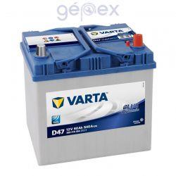 Varta Blue Dynamic 60Ah 540A J+ japán