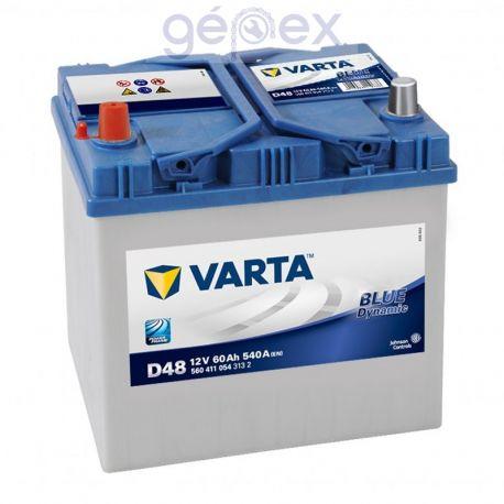 Varta Blue Dynamic 60Ah 540A B+ japán