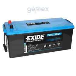 Exide EP2100 DUAL AGM 12V 240Ah 2400Wh munkaakku és indítóakku