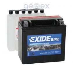 Exide AGM 12V 12Ah B+ YTX14-BS