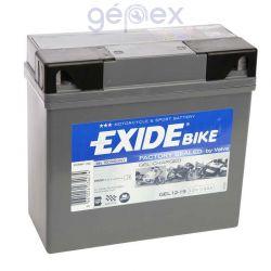 Exide Bike GEL12-19 12V 19Ah