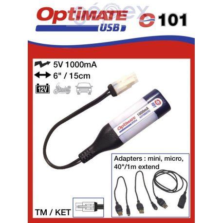 Tecmate/Accumate O-101 USB csatlakozó TM