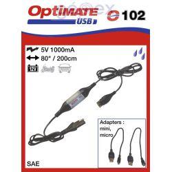 Tecmate/Accumate O-102 USB csatlakozó vezetékkel