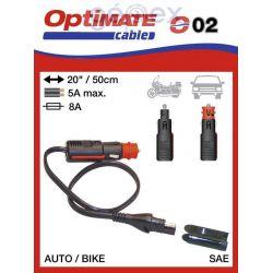 Tecmate/Accumate O-02 (SAE-72) DIN csatlakozó