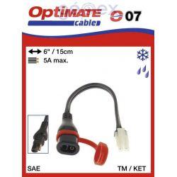 Tecmate/Accumate O-07 (SAE-77) Átalakító SAE-ről TM-re