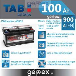 TAB Magic 100Ah 900A J+