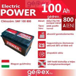JP Electric Power 100Ah 800A J+ SMF