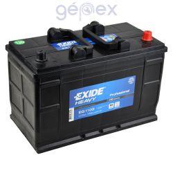 Exide Heavy Professional 110Ah 750A J+