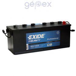 Exide Heavy Professional 140Ah 900A J+